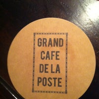 Photo taken at Grand Café de la Poste by Herve P. on 1/19/2012