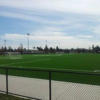 Photo taken at Newton Athletic Park by Lonny F. on 4/21/2012