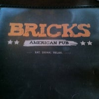 Photo taken at Bricks Kitchen & Pub by Matthew W. on 7/10/2011