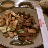 Photo taken at Benihana by Evangeline T. on 12/6/2011