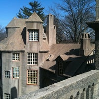 Photo taken at Fonthill Castle by Barry P. on 3/20/2011