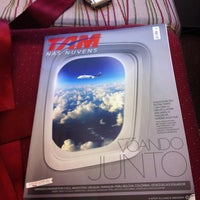 Photo taken at Voo LATAM JJ 3827 by Paulo M. on 7/28/2012