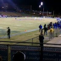 Photo taken at Nixon Field (James F. Byrnes High School) by Andres T. on 11/12/2011