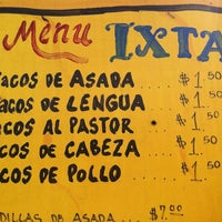 Photo taken at Ixtapa Mexican Taco Truck by rory w. on 4/24/2012