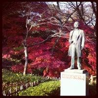 Photo taken at Sakura Castle Ruins Park by HAL_J は. on 12/6/2011