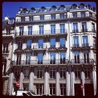 Photo taken at Hyatt Paris Madeleine by Leandro M. on 5/25/2012