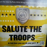 Photo taken at Buffalo Wild Wings by Brian C. on 5/25/2012