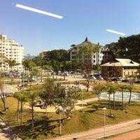 Foto tirada no(a) Praça do Sesquicentenário de Brusque por Jessana L. em 9/27/2011