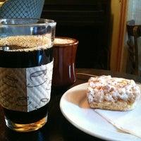 Photo taken at Simple Pleasures Cafe by Regina N. on 10/23/2011