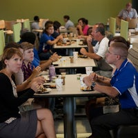 Photo taken at Hubbell Dining Hall by Drake University on 8/16/2011