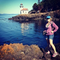 Photo taken at Lime Kiln Point State Park by Erika C. on 9/7/2012