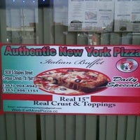 Photo taken at Authentic New York Pizza by John C. on 7/27/2012