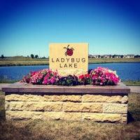 Photo taken at Lady Bug Lake by Josie S. on 8/5/2012