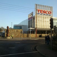 Photo taken at Tesco Extra by Artful D. on 3/7/2012