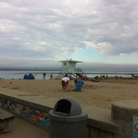 Photo taken at Capitola Beach by Helen S. on 8/5/2012