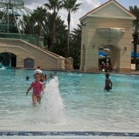 Photo taken at Parc Soleil: Pools and Waterslide by Raven C. on 8/14/2012