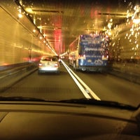 Photo taken at Lincoln Tunnel by Chelley L. on 6/12/2012