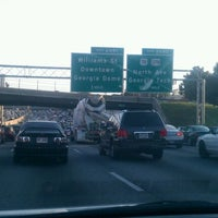 Photo taken at I-85 Exit 88: Cheshire Bridge Road by Free on 10/27/2011