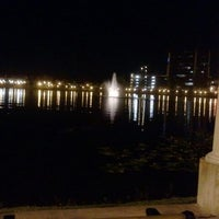 Photo taken at Lake Mirror by Deborah C. on 1/23/2012