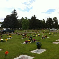 Photo taken at Provo City Cemetery by Pj V. on 5/27/2012