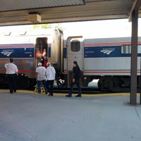 Photo taken at Amtrak - Ann Arbor Station (ARB) by Christopher S. on 8/6/2012