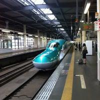 Photo taken at JR 盛岡駅 by Steve on 5/10/2012