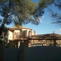 Photo taken at Village de Montferrier by Longboard34 D. on 10/8/2011