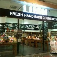 Photo taken at LUSH Fresh Handmade Cosmetics by Maria R. on 1/2/2012