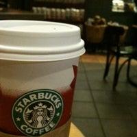 Photo taken at Starbucks by Alfie P. on 1/5/2011