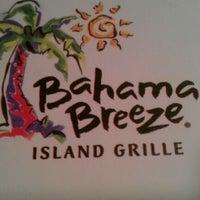 Photo taken at Bahama Breeze Island Grille by Amarish M. on 12/10/2011