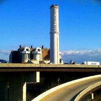 Photo taken at Baltimore BRESCO Smokestack / Wheelabrator Incinerator by Eric S. on 12/24/2011