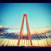 Photo taken at Arthur Ravenel Jr. Bridge by Cheri M. on 6/20/2012
