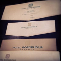 Photo taken at Hotel Borobudur Jakarta by henry s. on 8/24/2012