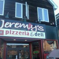 Photo taken at Jeremy's Pizzeria & Deli by CJ L. on 8/13/2011