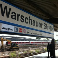 Photo taken at S Warschauer Straße by Susann H. on 7/20/2012