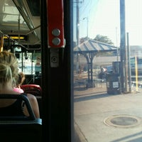 Photo taken at Bus Stop 1160 - Highland Mall Transfer Center by Jesús D. on 9/14/2011