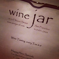 Photo taken at Wine Jar by Kelly T. on 11/19/2011
