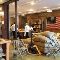 Photo taken at Mast Brothers Chocolate Factory by Kate Y. on 7/22/2012