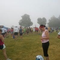 Photo taken at Rock N sole 1/2 Marathon by Morgan S. on 6/23/2012