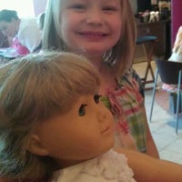 Photo taken at American Girl Boutique & Bistro by Tina L. on 3/25/2012