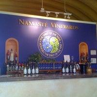 Photo taken at Namaste Vineyards by Casi M. on 7/16/2011
