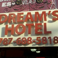 Photo taken at Dream's Hotel by LibrarianTorres on 12/7/2011