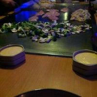 Photo taken at Yokoso Japanese Steak House by Jennifer C. on 11/27/2011