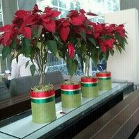 Photo taken at Lobby by Natthida C. on 12/23/2011
