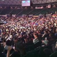 Photo taken at Stan Sheriff Center by Rich F. on 4/22/2012