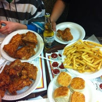 Photo taken at Chicken Delight by StrawbERICA M. on 3/2/2012