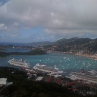 Photo taken at Port Of St. Thomas by Christine N. on 1/23/2012