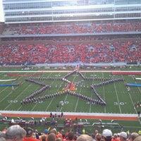 Photo taken at Memorial Stadium by Dave M. on 9/18/2011