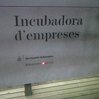 Photo taken at Barcelona Activa Vivero de Empresas by Dagoberto I. on 5/17/2012