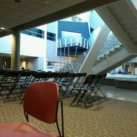 Photo taken at Howe Hall by Justin H. on 11/17/2011